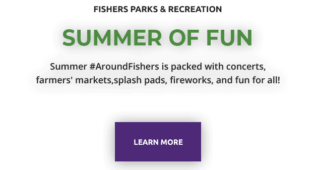 Fishers Parks & Recreation | summer of fun | Summer #AroundFishers is packed with concerts, farmers&