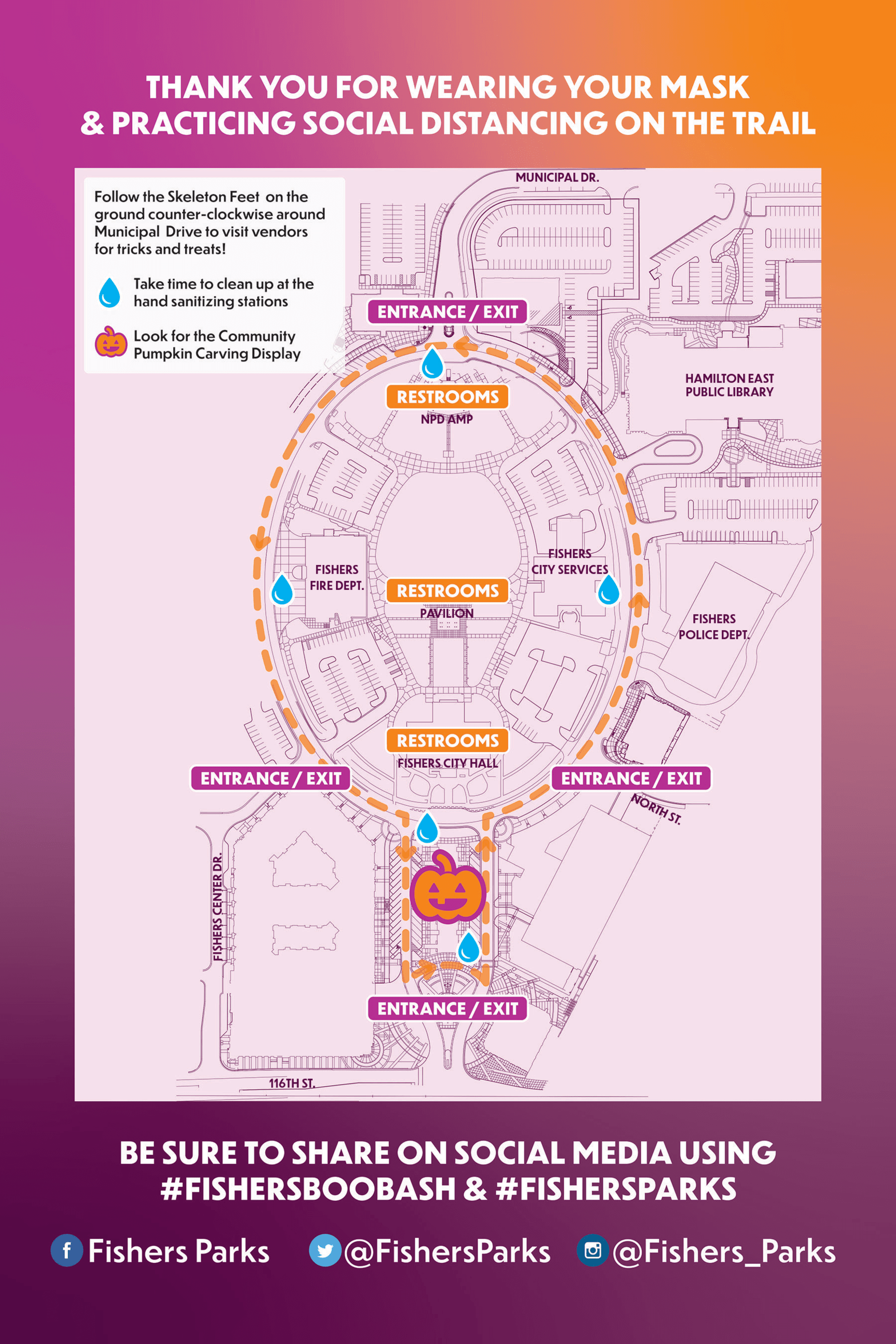 boo bash event map