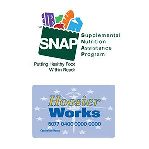 snap and hoosier works ebt card