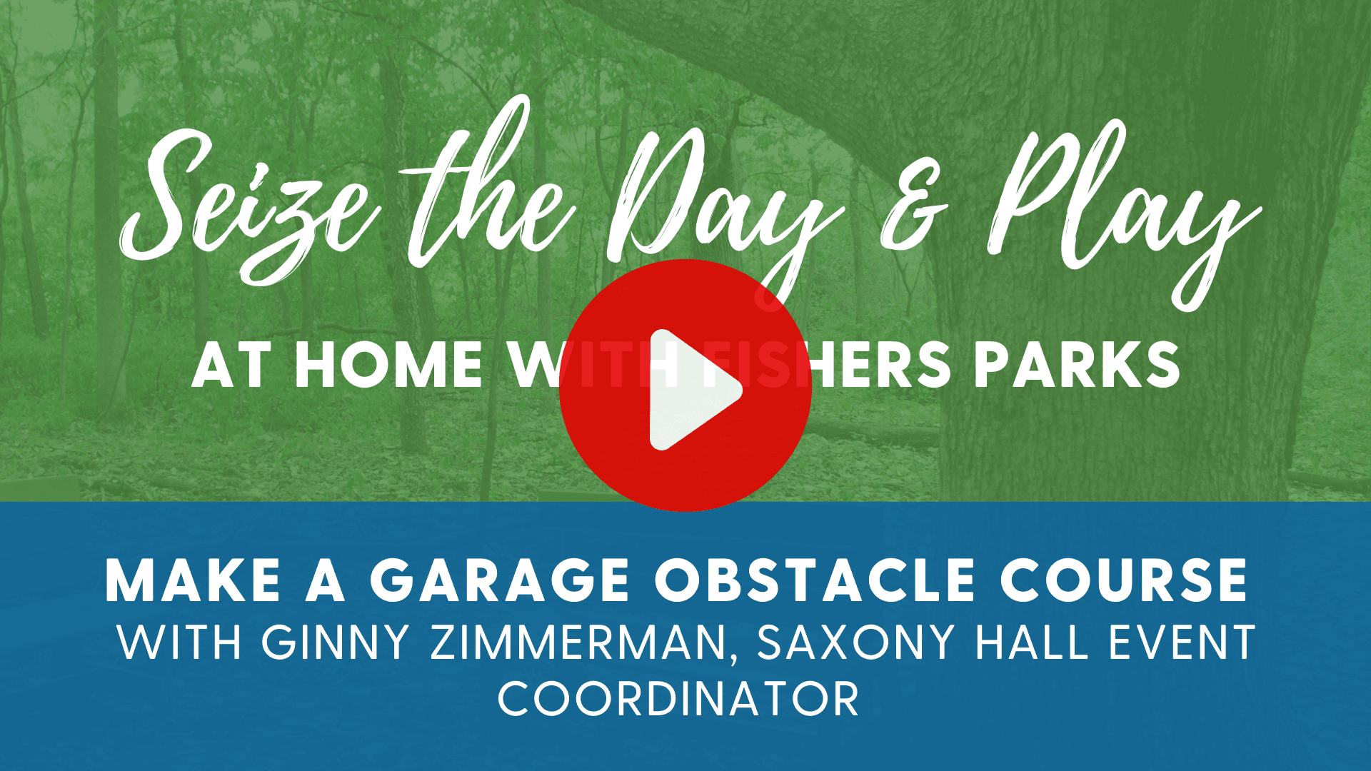 seize the day and play at home with fishers parks make a garage obstacle course with ginny zimmerman Opens in new window