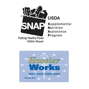 snap and hoosier works logos